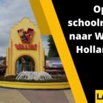 Op Schoolreisje naar Walibi Holland