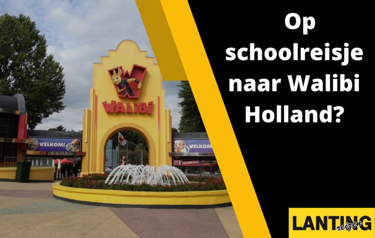 Op schoolreisje naar Walibi Holland?